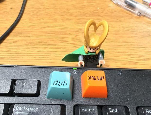 keyboard- #$%!